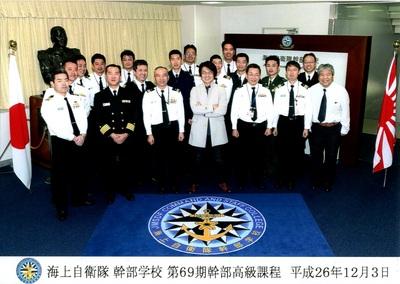 12月前半の講演記録。海上自衛隊...